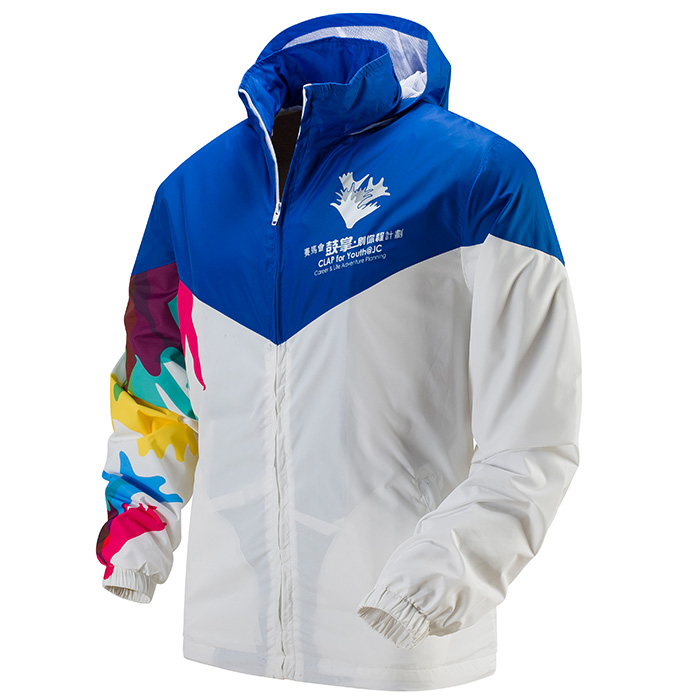 A-33a Sublimation Windbreaker - Each Custom T-Shirt Printing